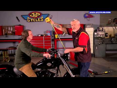 Motorcycle Windshield Height - How to Measure by J&P Cycles