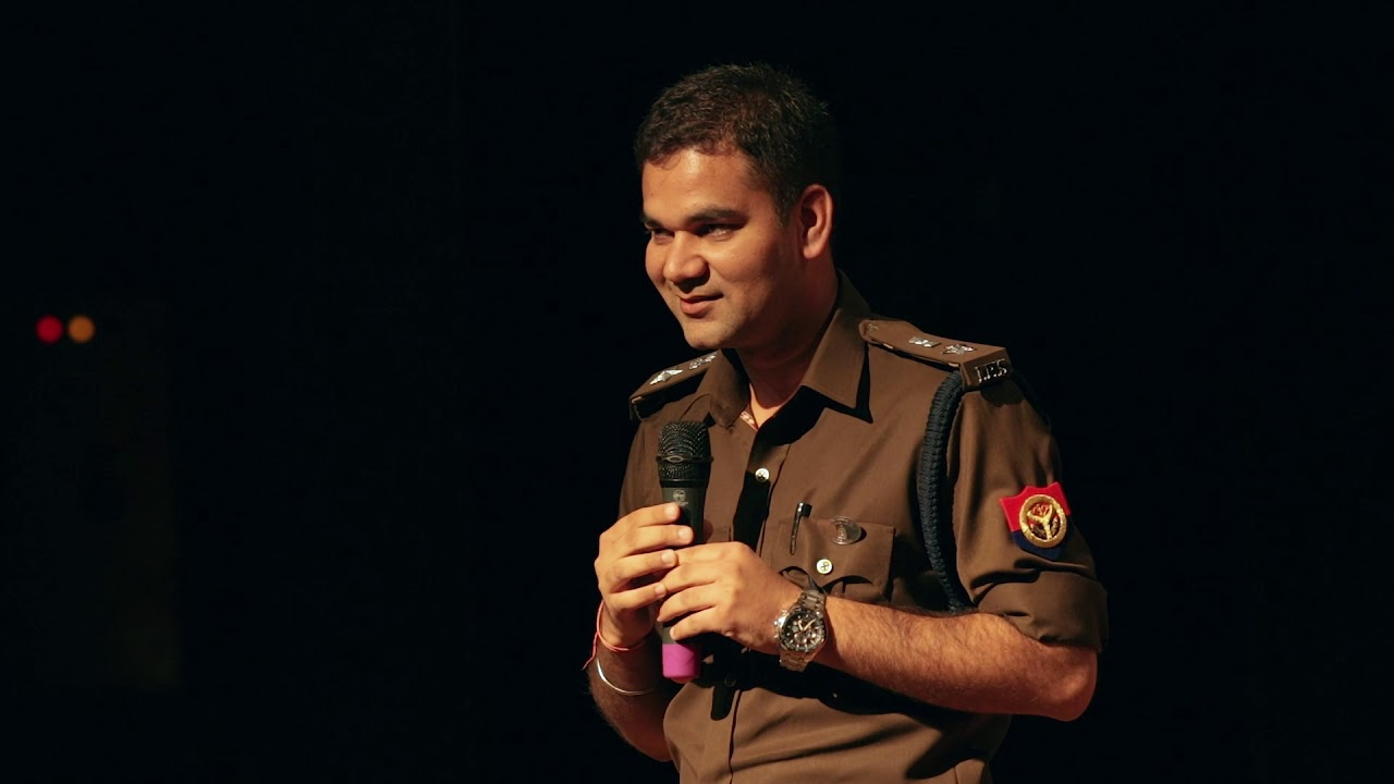 Secret behind the hearts of steel and minds of gold   IPS DR. Ajay Pal Sharma   TEDxJSSATE