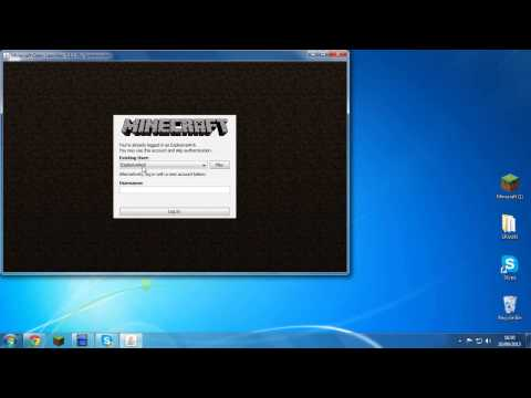 Cracked FREE Minecraft Launcher 1 7 2 1 7 4 WORKING