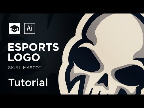 How To Design An eSports Mascot Logo | Adobe Illustrator Tutorial