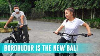 Nikita Willy \u0026 Indra Priawan Cycling di Borobudur