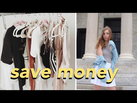 SAVE MONEY ON CLOTHES | my tips