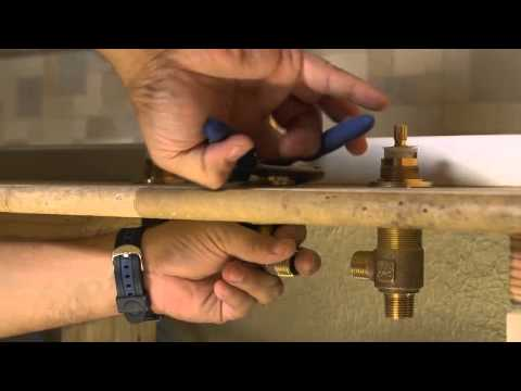 Installing a 2-Handle Roman Tub Fuacet - Pasadena Collection