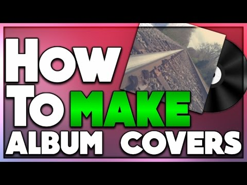 How to make a album cover on android PS touch 2017 (photoshop tutorials)