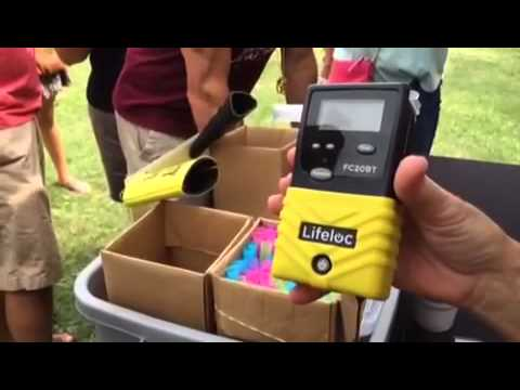 Video: Over the limit? Blood Alcohol testing at Summer Beer Festival