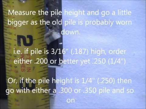 How to measure weather stripping for windows and sliding doors