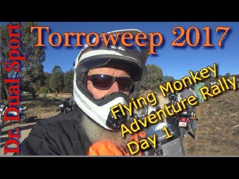 Torroweep 2017 Flying Monkey Adventure Rally Day 1