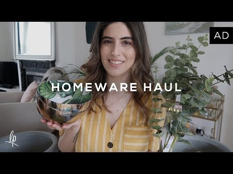 COME SHOPPING WITH ME & HOMEWARE HAUL | Lily Pebbles