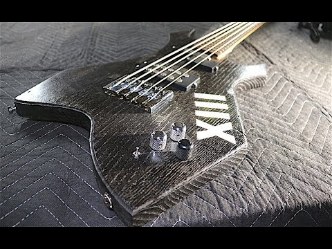 The XIII: 5-String Bass from Twice Reclaimed Chestnut