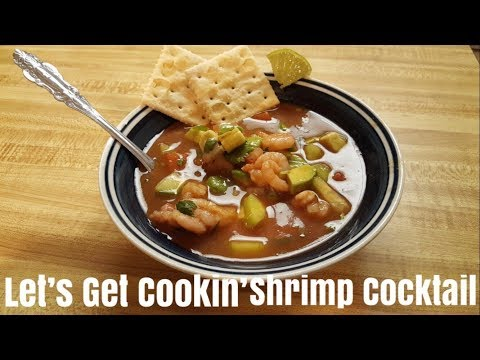 LET'S GET COOKIN' SHRIMP COCKTAIL | GABRIELA TOLEDO