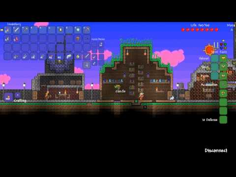 Terraria Adventure Map: Iron and Copper with Verbal Processing and Pedguin (ep 03)