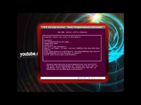 Howto Hack Linux Ubuntu 11.04 to get root access