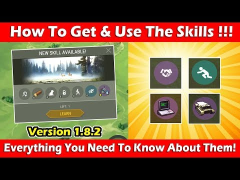 How To Get & Use Skills In 1.8.2 (Complete Guide)! Last Day On Earth Survival