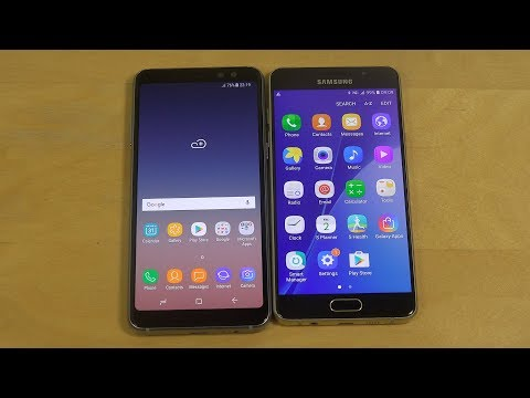 Samsung Galaxy A8 2018 vs. Samsung Galaxy A5 2016 - Which Is Faster?