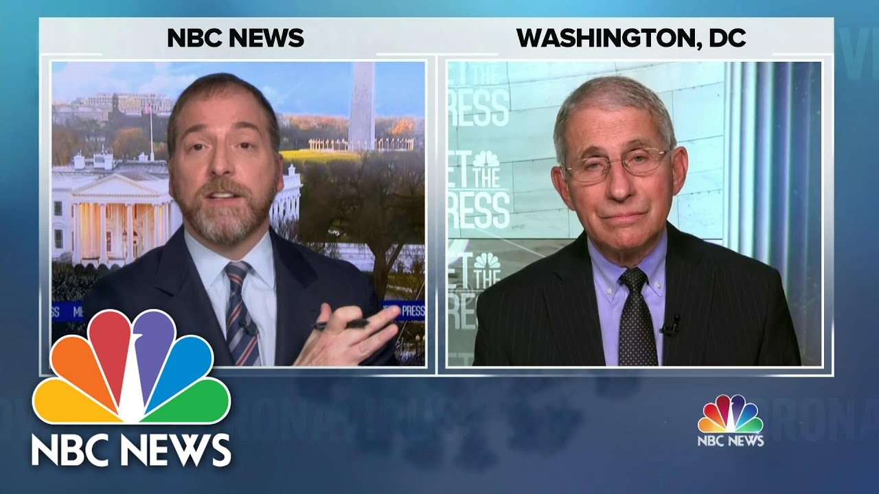 Full Dr. Fauci: 'Hopefully We'll Pick Up Some Momentum' On Vaccine Distribution | Meet The Press