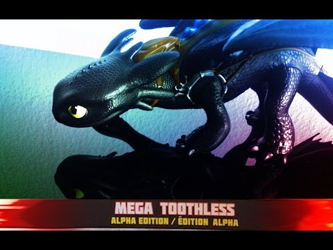 How To Train Your Dragon 2 - MEGA TOOTHLESS - Figure Review
