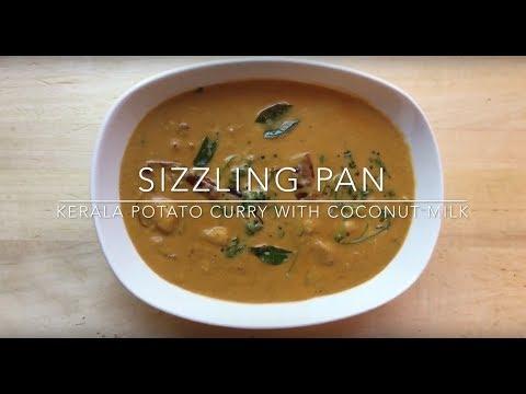 Spicy potato curry for Appams, Idiyappams, Chappati, Dosas | Sizzling Pan