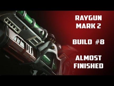 Raygun Mark 2 replica prop build #8   Slight Changes