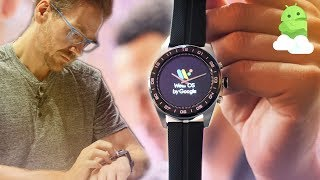 LG Watch W7 hands-on impressions: Wear OS + real watch hands!