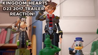 Kingdom Hearts 3 D23 2017 Toy Story Worldwide Reveal Trailer Reaction!