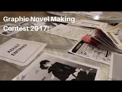Graphic Novel Making Contest Awards Ceremony 2017