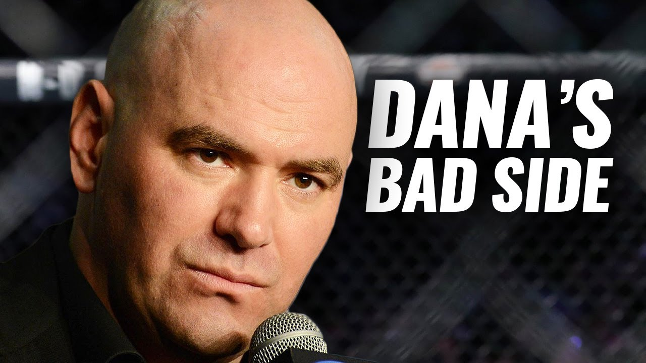 10 UFC Fighters Who Got on Dana White's Bad Side