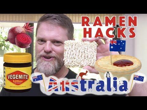 Aussie Ramen Hacks - Greg's Kitchen Australia Day Special