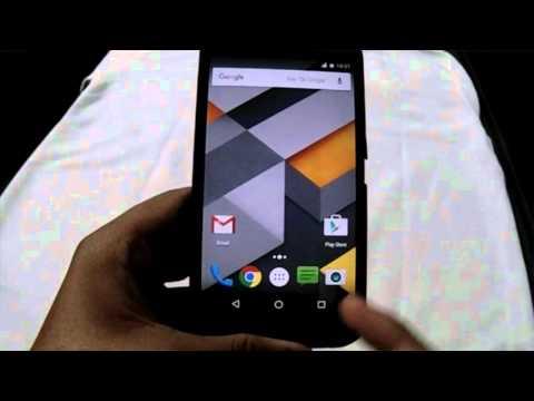 Motorola Moto g2 xt1068 Android Marshmallow Update