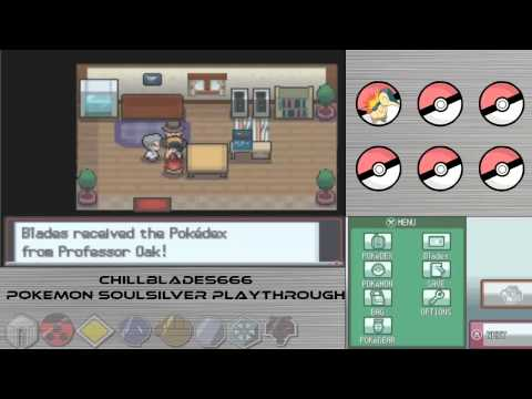 Pokemon Soulsilver Playthrough  Part 1 - A New Era - ChillBlades666