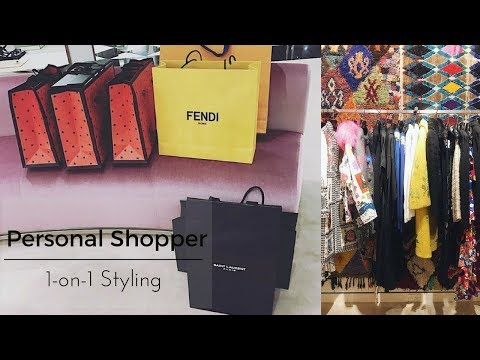 A Day In The Life Of A Personal Shopper | 1-on-1 Styling
