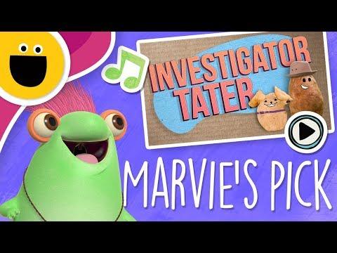 Investigator Tater | Marvie's Pick (Sesame Studios)