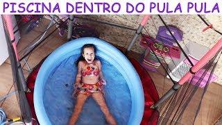 PISCINA DENTRO DO PULA PULA /CAMA ELÁSTICA - VALENTINA
