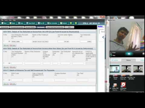 736 (Income Tax) How to save the Java Filled return in PDF format
