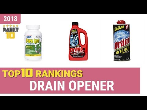 Best Drain Opener Top 10 Rankings, Review 2018 & Buying Guide