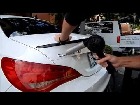 Car Debadging: Mercedes CLA 250