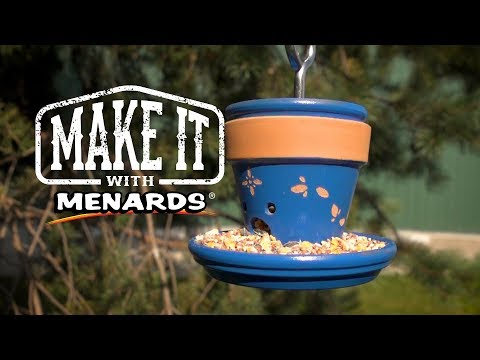 Hanging Bird Feeder - Make It With Menards