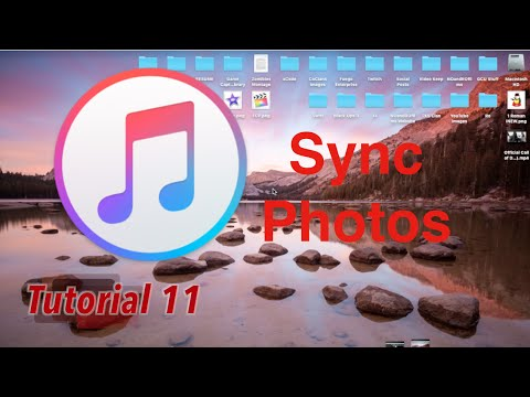 Sync Photos in iTunes 12.3 | Tutorial 11