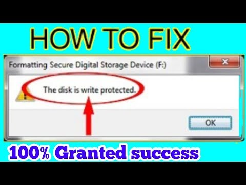 TOP 3 Ways To FIX/Remove Write Protection From USB Flash Drive/SD Card Hindi Tutorial