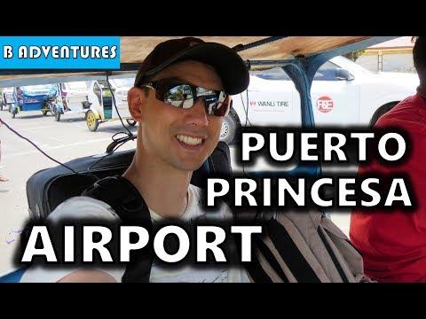 Puerto Princesa Airport, Palawan Philippines S3, Vlog #75