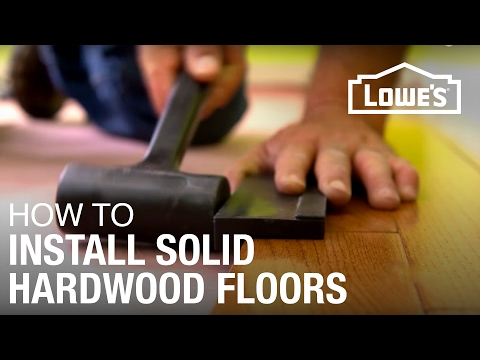 How to Install Solid Hardwood Floors