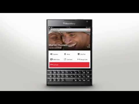 Making Calls: BlackBerry Passport - Official How To Demo