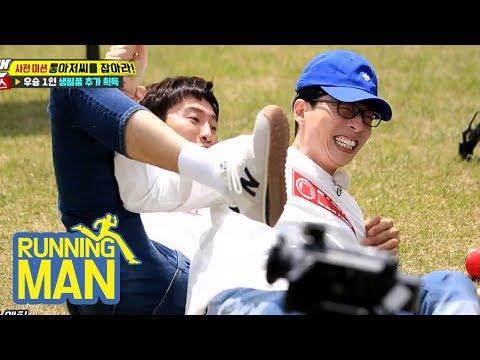 Jae Suk VS Kwang Soo, It's a Battle Between Two Cheaters! [Running Man Ep 403]