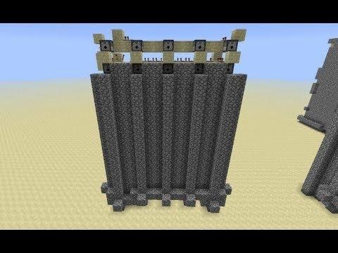 Cobblestone Wall on Demand -- Minecraft Tutorial