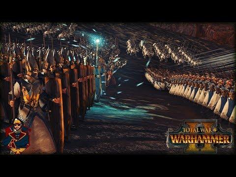 Tyrion's Last Alliance! - Warhammer 2 Quest Battle (Dragon Armor of Aenarion - Legendary)