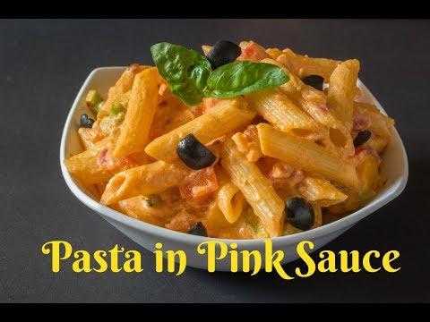 Penne Pink Sauce- How to Make Pink Sauce Pasta-Kalimirchbysmita-Ep #261