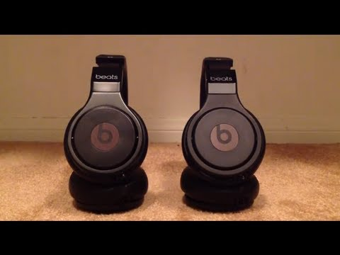 Comparison of the Beats by dr. Dre Pro DeTox Edition (Real vs. Fake)