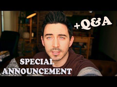 Special Announcement + Q&A