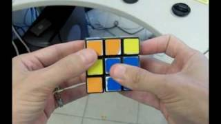 Solve The Rubiks Cube With 2 Moves