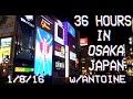 [TRAVEL VLOG] OSAKA JAPAN w/Antoine