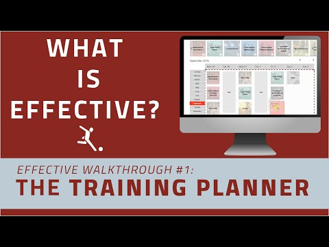 What Is Train Effective: How to Create a Soccer Training Schedule